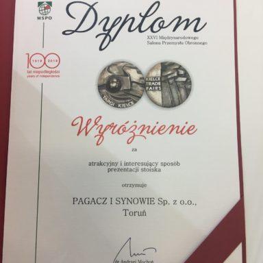 MSPO 2018, Kielce (wyróżnienie)