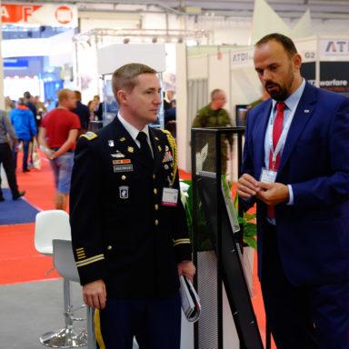 Odwiedziny przedstawicieli US Army podczas MSPO 2019