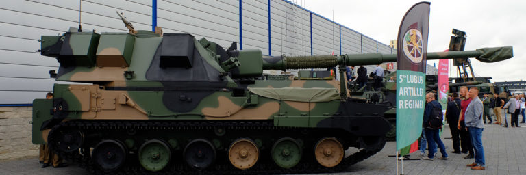 System samobieżnej artylerii gąsienicowej