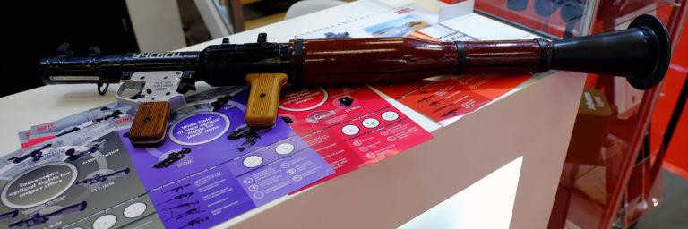 Granatnik RPG-7 z systemem szkolenia prowadzenia ognia