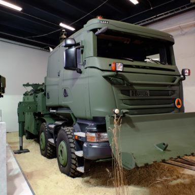 Hardun - ciężki pojazd do ewakuacji i ratownictwa technicznego