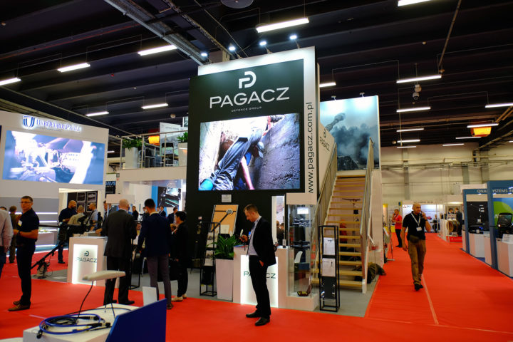 Pagacz Defence Group stand at MSPO 2019