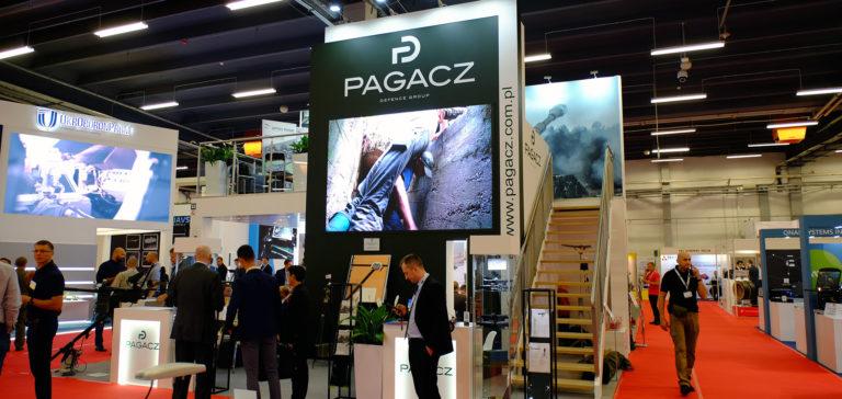 Pagacz Defence Group stand at MSPO 2019