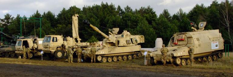 Artyleria sojuszników z NATO
