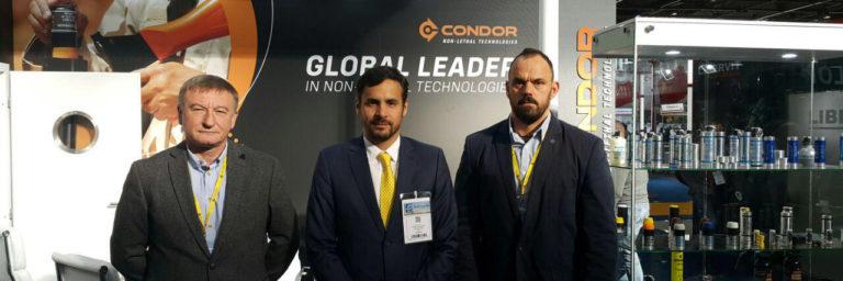 Stoisko Condor Non Lethal